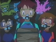 EP216 Misty, Luka y Ash con el cofre (2)