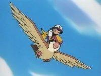 EP083 Pidgeot usando vuelo
