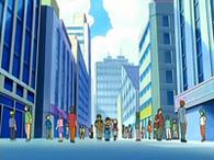 Ciudad Jubileo en el anime