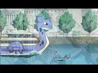 VI07 Barco Lapras y Dragonair
