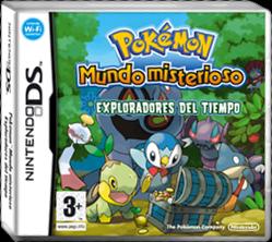 Archivo:Carátula Pokémon Mundo Misterioso Exploradores del Tiempo.png