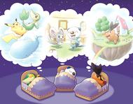 Soñando en Pokémon Dream World