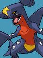 Entrada de combate contra Garchomp en Pokémon Ranger 2.png