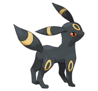 Ilustración de Umbreon