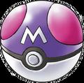 Ilustración de la Master Ball