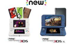 New Nintendo 3DS y New Nintendo 3DS XL