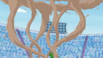 Archivo:EP655 Contradefensa de Gastrodon usando agua lodosa vista desde arriba.jpg