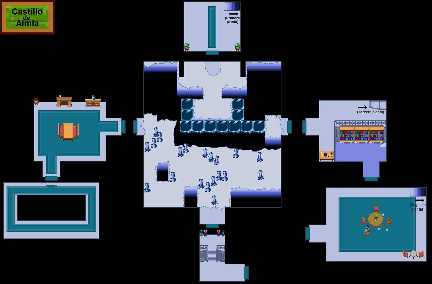 Plano de la segunda planta