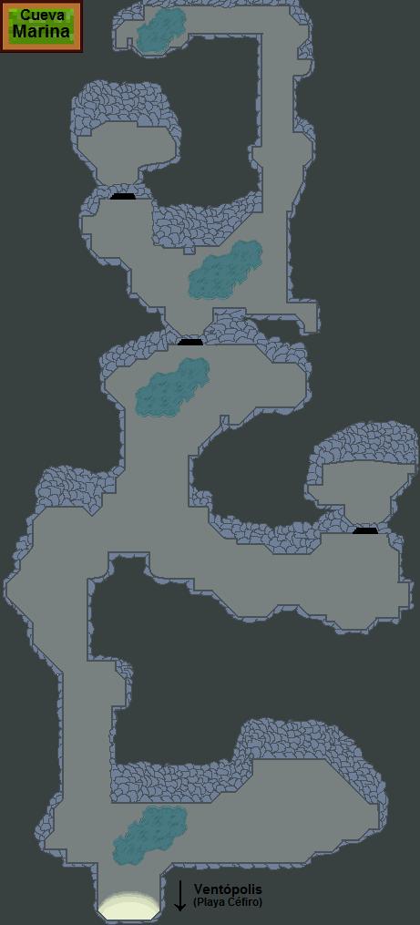 Plano de la Cueva Marina