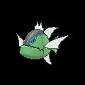 Imagen de Basculin forma raya azul en Pokémon X y Pokémon Y