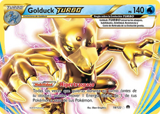 Golduck TURBO