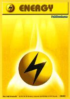 Energía relámpago (Base Set TCG)