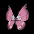 Imagen posterior de Vivillon en la sexta generación