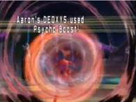 Deoxys usando psicoataque