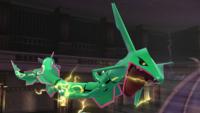 Rayquaza Liga Pokémon de Kalos SSB4 Wii U