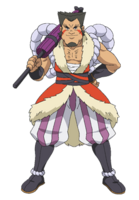 Ilustración Louis Strongest Mega Evolution