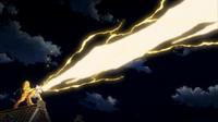 P13 Raikou usando rayo carga