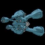 Imagen posterior de Mega-Metagross en la sexta generación