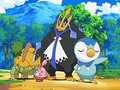 EP572 Piplup, Happiny, Grotle y Empoleon.png