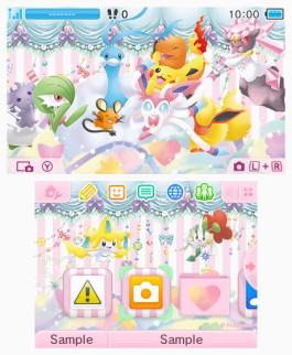Tema 3DS Pokémon colección PokeKyun.png