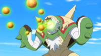 EP911 Chesnaught usando bomba germen.png