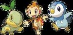 Pokémon iniciales de Sinnoh.png