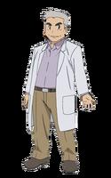 Ilustración Profesor Oak The Origin