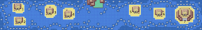 Mapa de la ruinas Sete