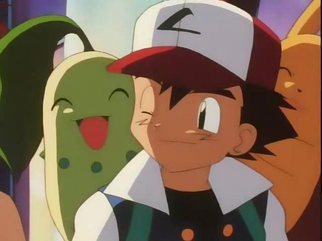Archivo:EP138 chikorita en el hombro de Ash.png