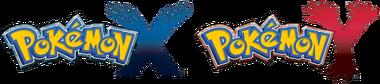 Logo de Pokémon X y Pokémon Y