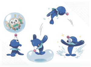 Artwork de Popplio