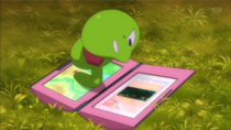 EP897 Puni-chan enfadado con el mapa