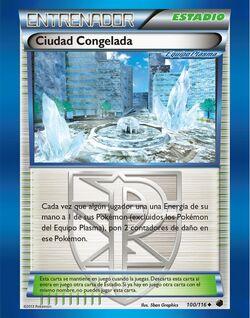 Carta Ciudad Congelada