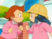Archivo:EP532 Leona y Maya de pequeñas (2).png