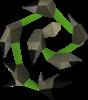 Látigo abisal verde Detallado