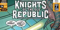 Caballeros de la Antigua República 24: Caballeros del dolor, parte 3