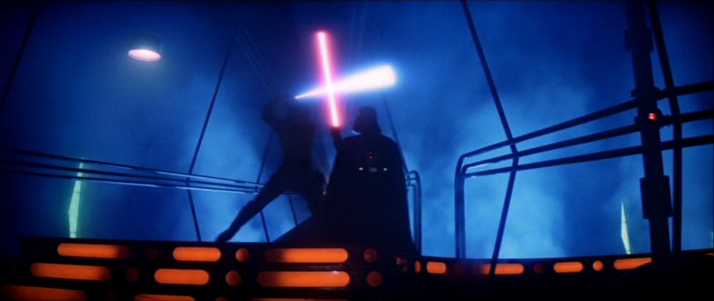 Image result for Darth Vader skywalker fight