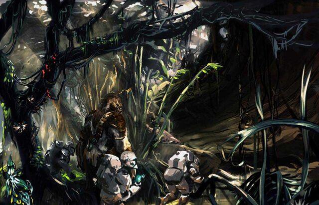 Archivo:CommandosOnKashyyyk.jpg