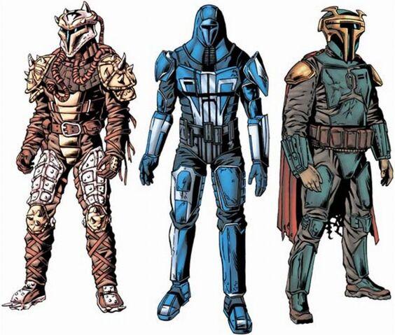 Archivo:Mandalorian Armors.JPG