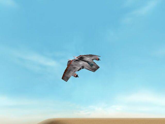 Archivo:Airspeeder V-Wing.jpg