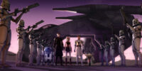 Misión al Palacio de Jabba (Guerras Clon)