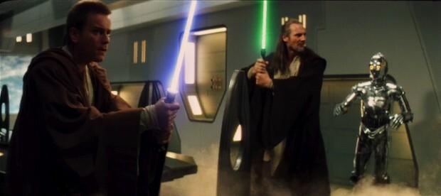Archivo:Obi-Wan Kenobi, Qui-Gon Jinn & TC-14.jpg