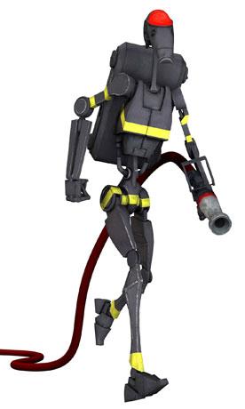 Archivo:Firefighting battle droid.jpg