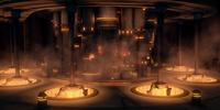 Cámara de Congelación en Carbonita del Templo Jedi