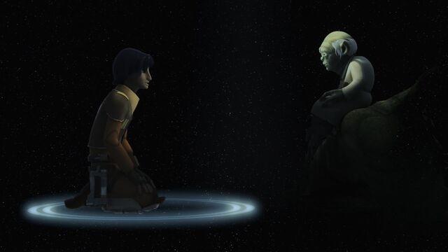 Archivo:Ezra speaks with Yoda.jpg