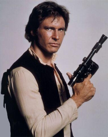 Archivo:Han Solo's blaster.jpg
