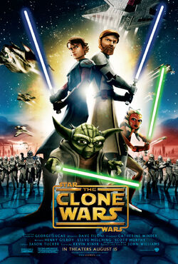 The Clone Wars film poster