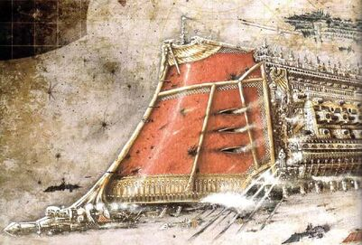 Proa Acorazado Flota Batalla Gotica Imperio Wikihammer