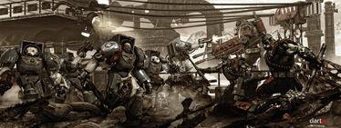 Ultramarines vs Orcs variation by DartP.jpg