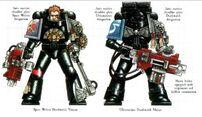 Marine Asesino y Devastador de los Guardianes de la Muerte